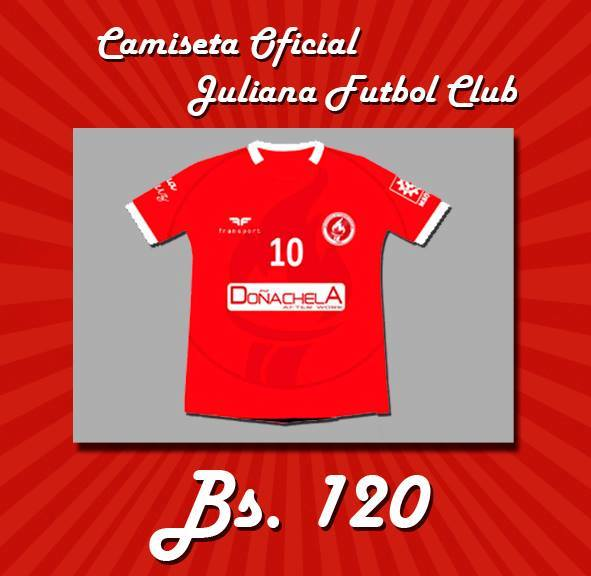 Camiseta Oficial Juliana Futbol Club
